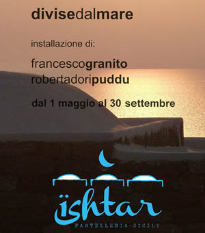 Separated by the sea, collective exhibition - Pantelleria (Tp) 2015